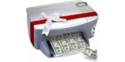 О технологии экономичной печати