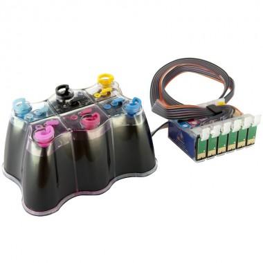 Система непрерывной подачи чернил (СНПЧ) Epson Stylus Photo RX560