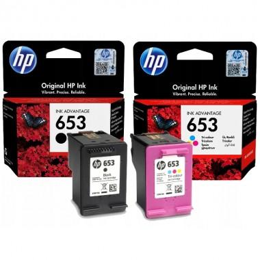 Струйные оригинальные картриджи HP DeskJet Plus Ink Advantage 6475