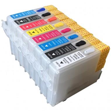 Перезаправляемые картриджи Epson Stylus Photo R800