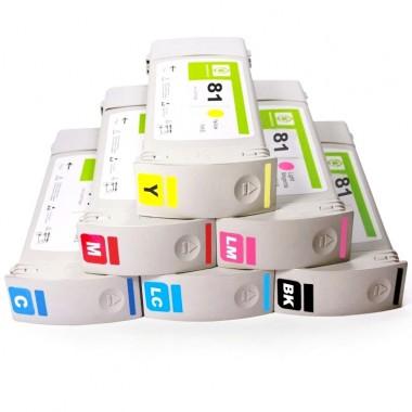 Перезаправляемые картриджи HP DesignJet 5000