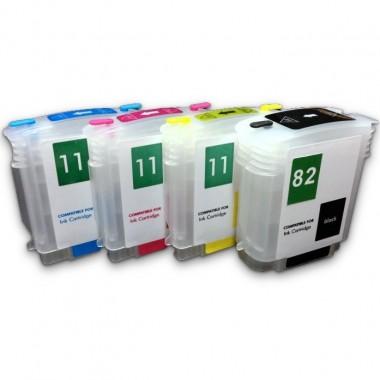 Перезаправляемые картриджи HP DesignJet 111